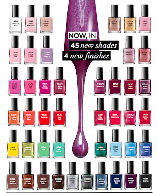 Avon Nail Enamel! Choose your shade and order online at www.youravon.com/mlball!