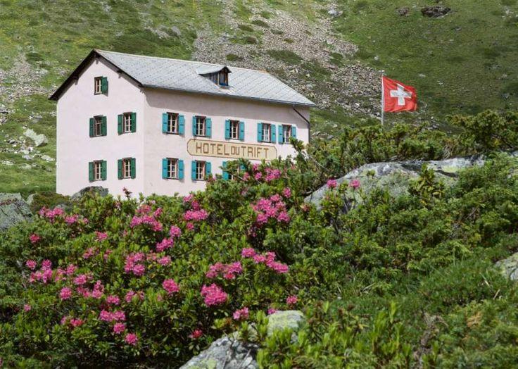 Ausflugstipp im Wallis: Wanderung zur Trifthütte