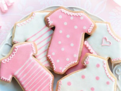 Receta de Galletas para Baby Shower