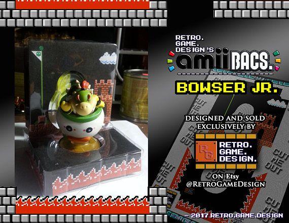 Super Smash Bros Bowser Jr AmiiBac