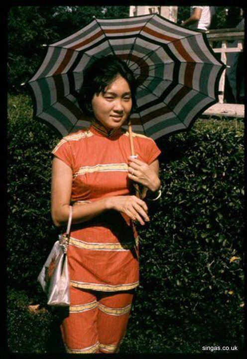 Camera club model in 1960s Singapore