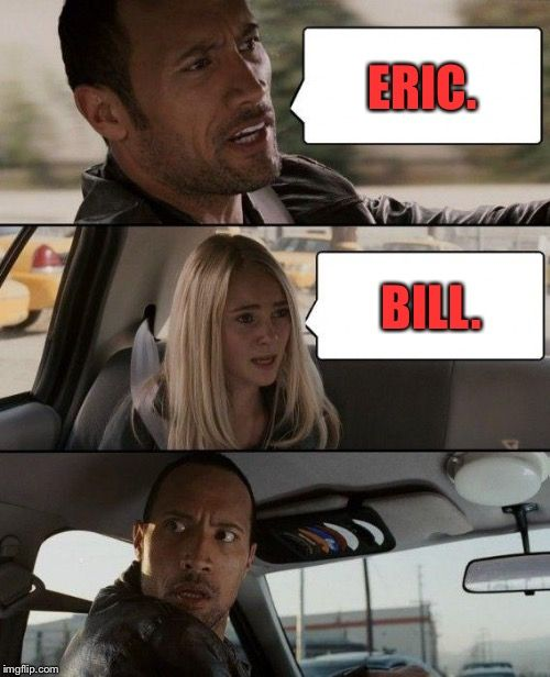 Team Eric for life,bitches!!!! 👊🏽