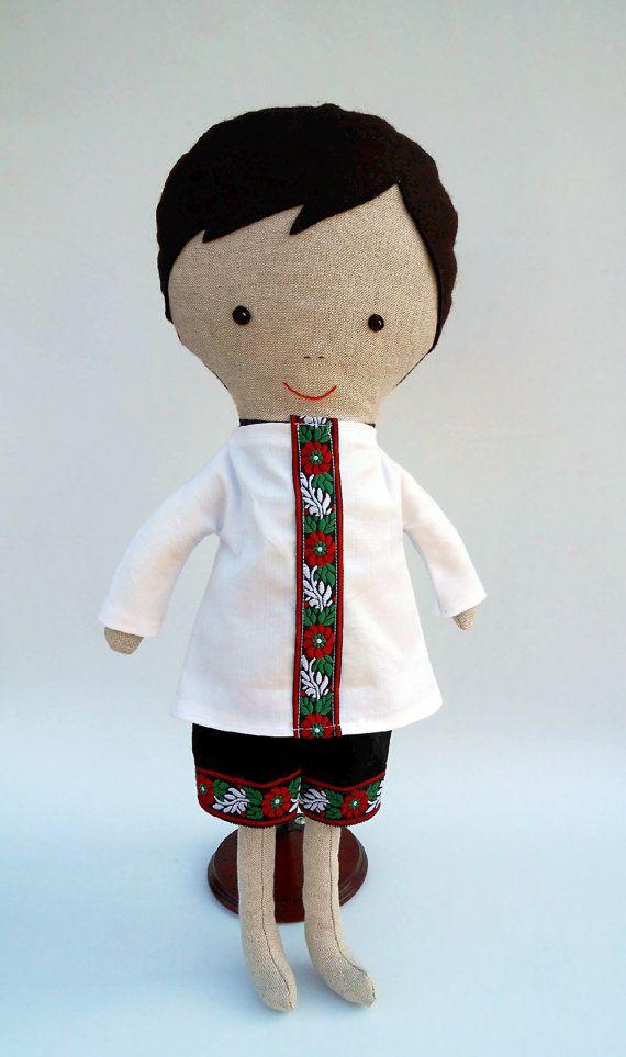 """Dress up doll, fabric dolls, ragdoll, cloth dolls, 50 cm/19 """", dress up play, roll play, handmade dolls, cloth doll play, doll for boys"""