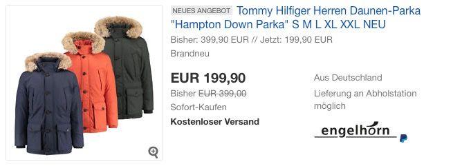 """#Tommy #Hilfiger Herren #Daunen-Parka """"Hampton Down"""" für 199,90€ (statt 277,28€) https://www.billigerfinder.de/kleidung-schuhe-und-uhren/1518082364682-tommy-hilfiger-herren-daunen-parka-hampton-down"""