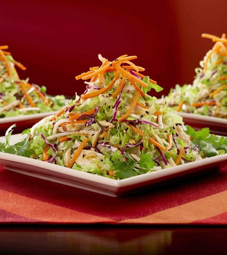 Asian Chicken Salad (Skinnylicious Menu) @ Cheesecake Factory.