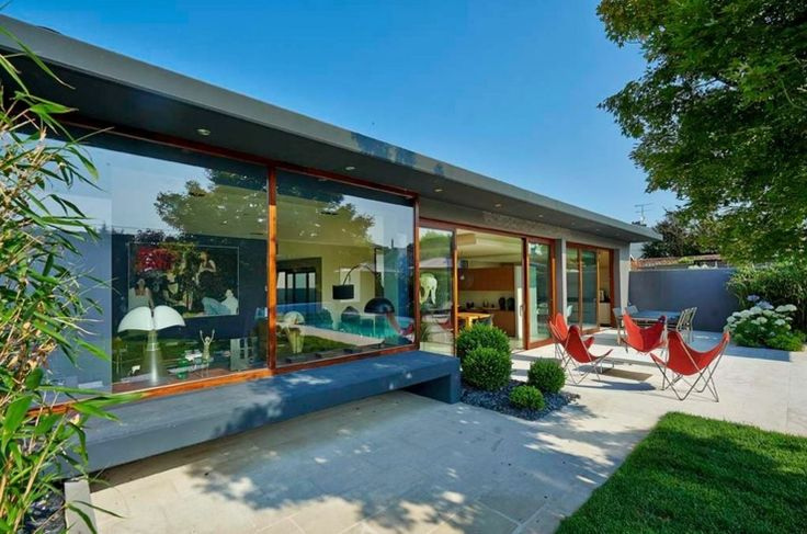 Rénovation et extension d\'une maison contemporaine à Bordeaux ...