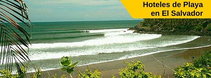 Listado de Hoteles de Playa en El Salvador. Alternativas para hospedarse en las playas de El Salvador. Guía rapida hoteles de playa