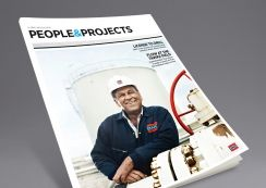 People & Projects magazine by DNO. Pinned from www.redink.no.