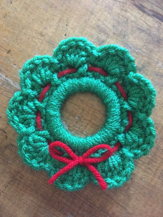 Mini Christmas Wreath Adventskalender Pinterest Christmas