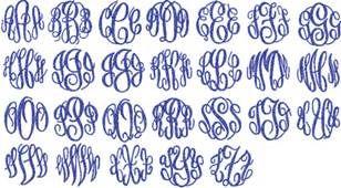 Free Monogram Fonts - Bing images