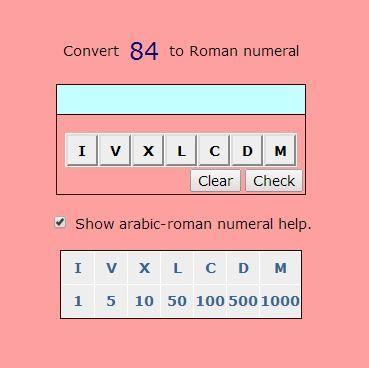 Roman numeral date converter
