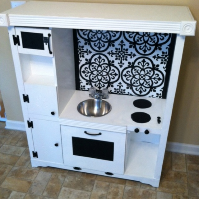 Entertainment Center Kitchen Set: 1000+ Images About Kids Kitchen On Pinterest