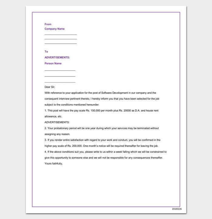 48 best Letter Templates - Write Quick and Professional images on - sample appointment letter