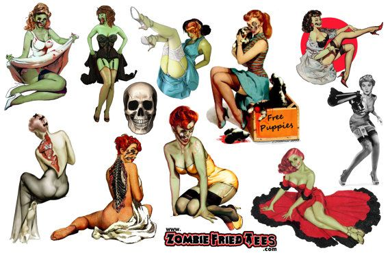 Hey, I found this really awesome Etsy listing at https://www.etsy.com/listing/96778867/mens-pin-up-stickers-vintage-zombie