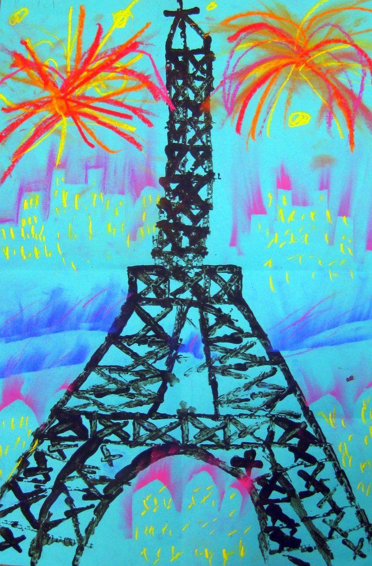 Printed paris around the world crafts for kids pinterest for Paris themed crafts for kids