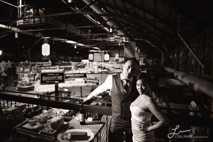 The St. Lawrence Market Kitchen Wedding Photography