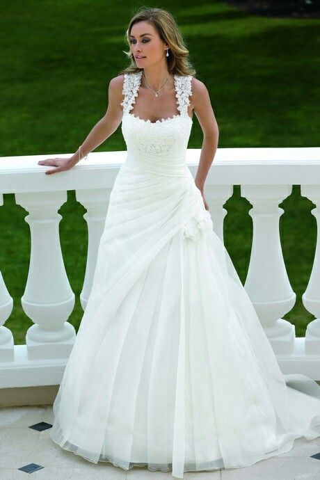 91 best Brautkleider images on Pinterest | Wedding dressses, Bridal ...