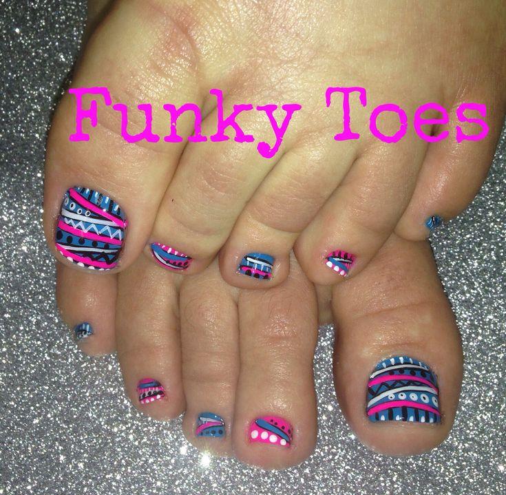 3450 toe nails design