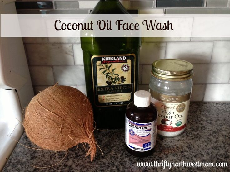 Coconut Oil Face Wash and Coconut Oil Conditioner - Thrifty NW Mom