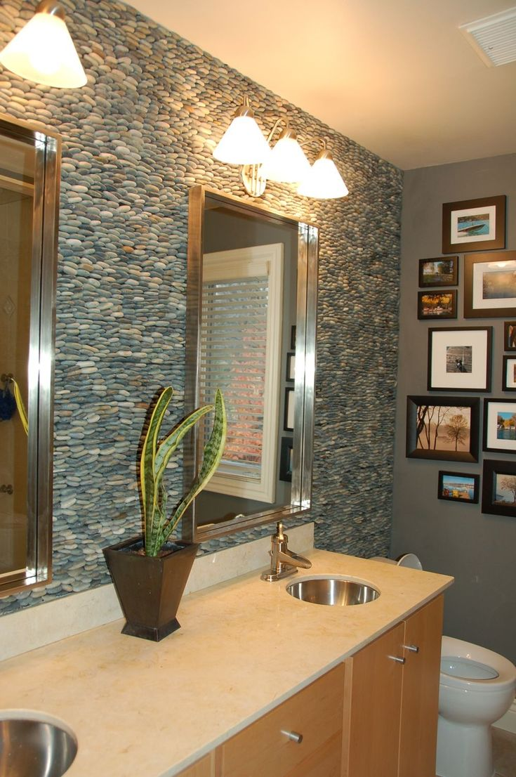 River Rock Bathroom Ideas Simple Best 25 River Rock Bathroom Ideas On Pinterest  River Rock Tile Design Ideas