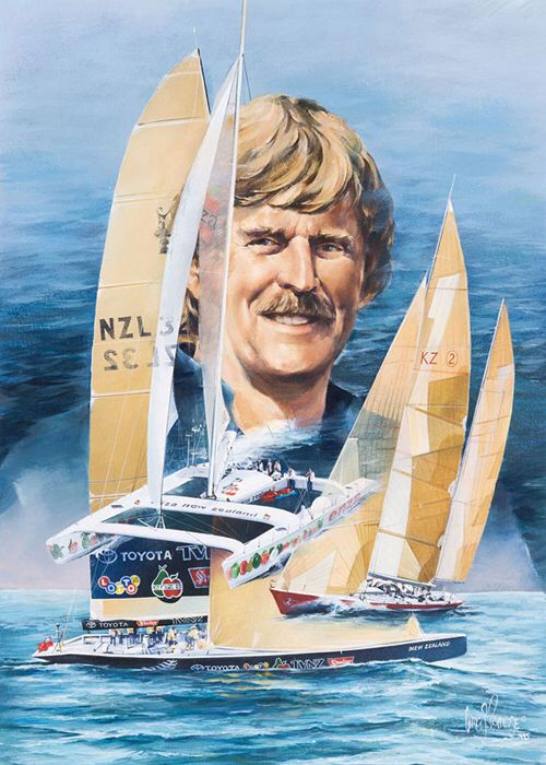 Sir Peter James Blake, KBE (1 October 1948 – 5 December 2001) was a New Zealand yachtsman who won the 1989–90 Whitbread Round the World Race, held the Jules Verne Trophy from 1994 to 1997 by setting the fastest time around the world as co-skipper of ENZA New Zealand, and led his country to successive victories in the America's Cup. In honour of his services to yachting, Blake was appointed a Knight Commander of the Order of the British Empire in 1995, and received an honorary doctorate in…
