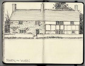 Ian Sidaway Fine Line: Frampton on Severn