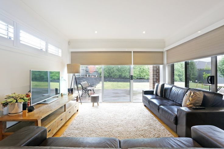A Solution For Sliding Glass Doors To Give Some Privacy