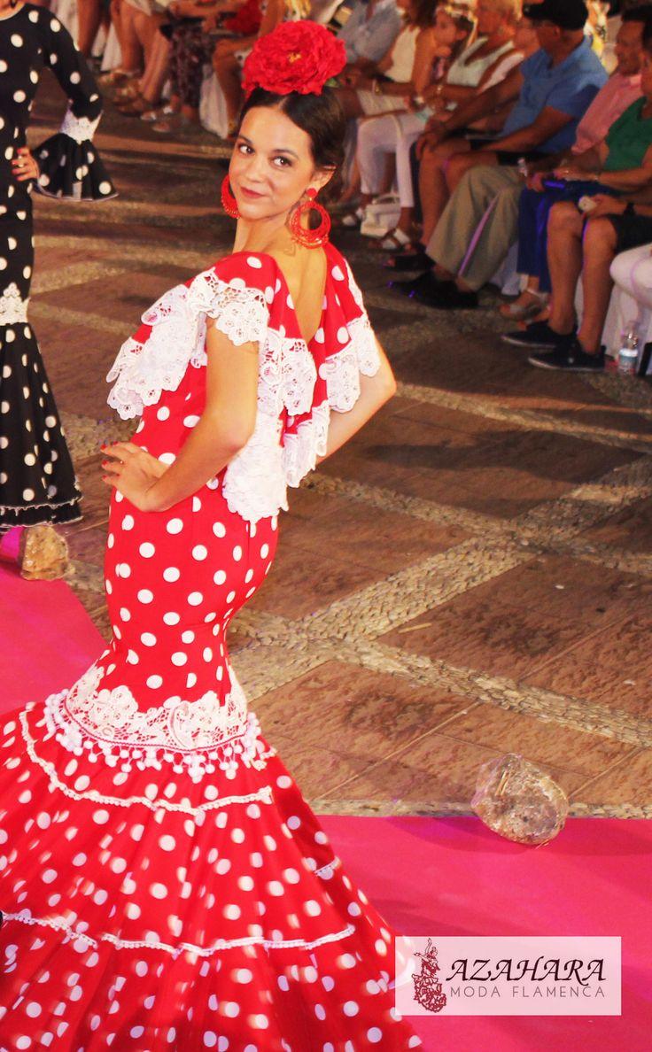 #trajesdeflamenca #modaflamenca #azahara #fuengirola #azaharamodaflamenca #lunares #nocheviva2016