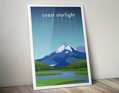 "Check out new work on my @Behance portfolio: ""Amtrak: Coast Starlight"" http://be.net/gallery/35037691/Amtrak-Coast-Starlight"