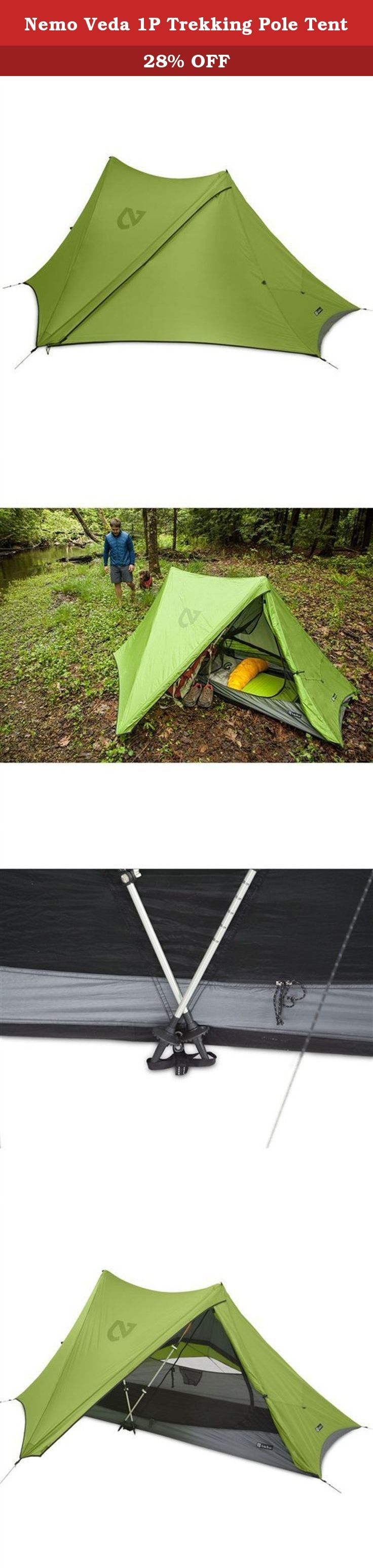 Nemo Veda 1P Trekking Pole Tent. FEATURES of the Nemo Veda 1 Person Tent Vestibules  sc 1 st  Pinterest & 222 best Tents Tents u0026 Shelters Camping u0026 Hiking Outdoor ...