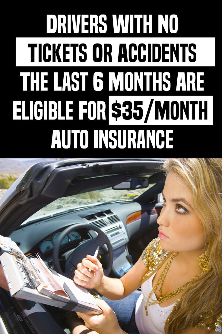 If you've been a good driver the last 6 months you may be