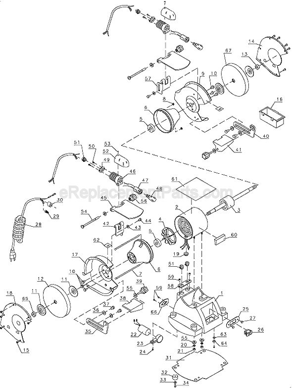 84 Reference Of Bench Grinder Wiring Diagram In 2020