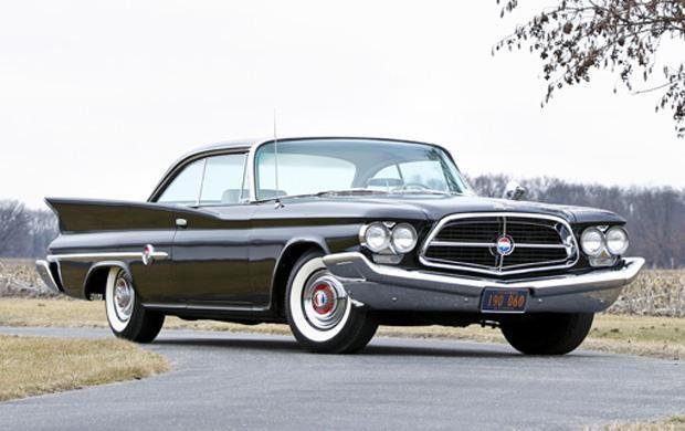 1960 Chrysler 300 F Gran Tourismo Special. Very rare 4spd Chrysler.