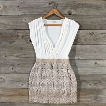 Tucked Lace Dress... GORG!