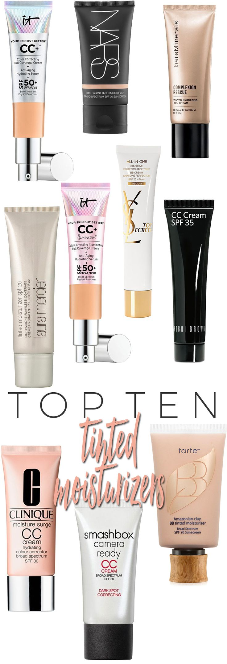 Top 10 Tinted Moisturizers for Summer.