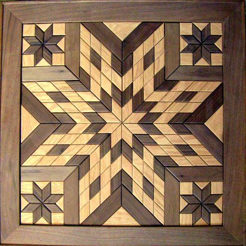 Wooden Barn Quilts For Sale Wooden Star Quot Wall Hanging