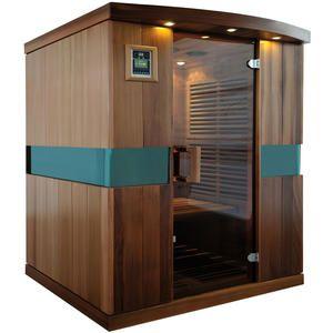 IR Bastu Quattro   Ceder trä  Ir bastu för professionell användning av Spa & Gym. Pris 29 995:-kr.