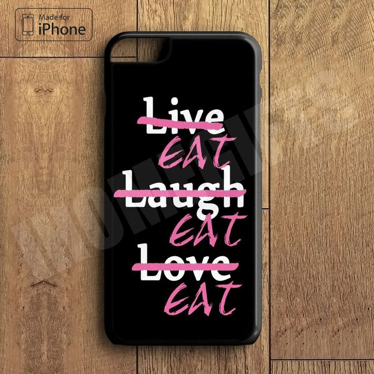 Funny Live Love Laugh Case Cute Food Case For iPhone 6 Plus For iPhone 6 For iPhone 5/5S For iPhone 4/4S For iPhone 5C-5 Colors Available