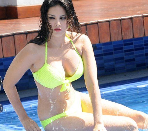 Sunny Leone Latest Bikini Wallpapers In 2015 Year