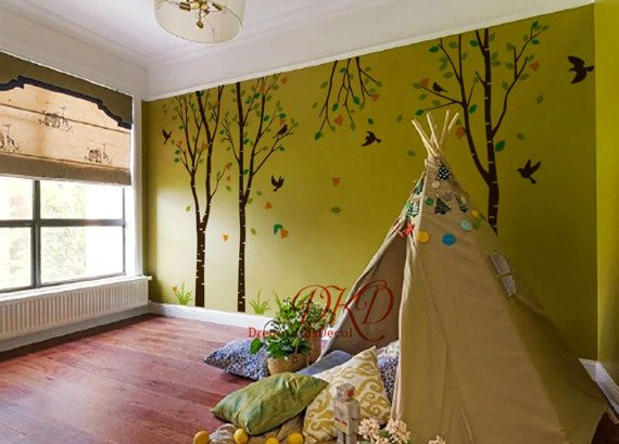 Baum Aufkleber Kinderzimmer Wand Aufkleber Baby Wand Aufkleber