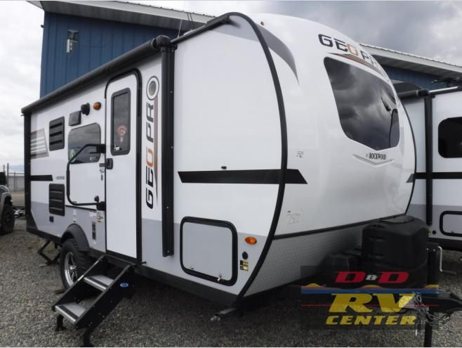 New 2019 Forest River Rv Rockwood Geo Pro 19bh Travel Trailer At