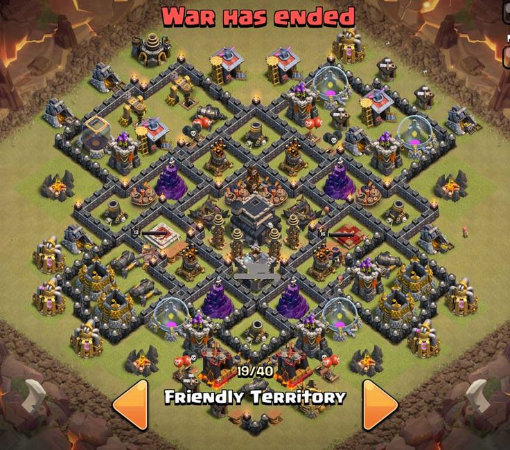 14 best coc base war images on pinterest base town hall and farming tng hp war base cho town hall 9 clash of clans vit nam publicscrutiny Image collections