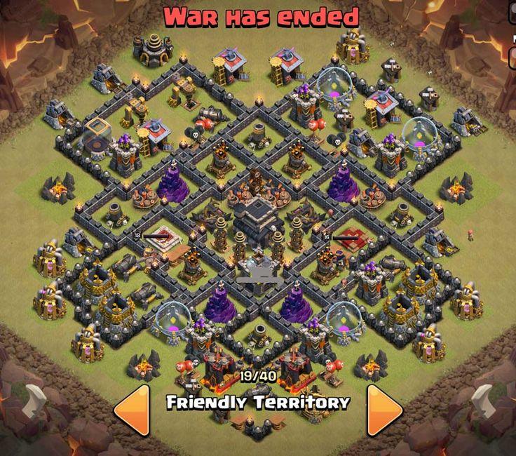 Tổng hợp War base cho Town Hall 9 ~ Clash Of Clans Việt Nam