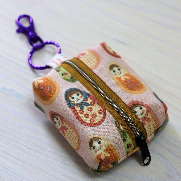Aufnähen einer kleinen Geldbörse: Einfache Anleitung ohne Muster   – Taschen