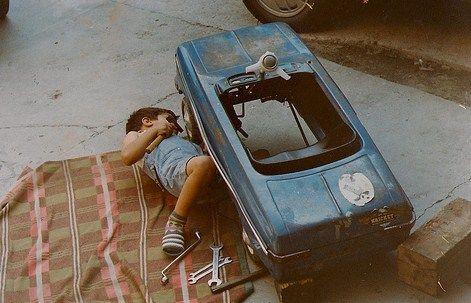Junior mechanic by Unknown.