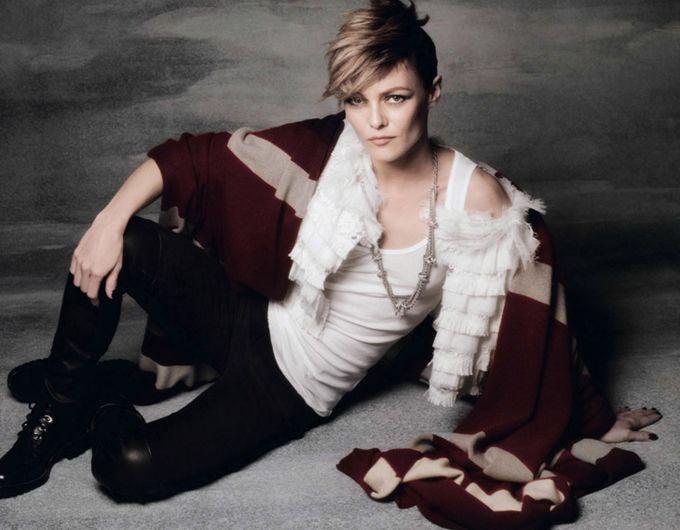 Ванесса Паради на обложке Elle France