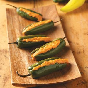 Grilled Stuffed Jalapenos Recipe from Taste of Home