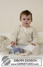 Ravelry: b13-3 Jacket and socks in Alpaca pattern by DROPS design