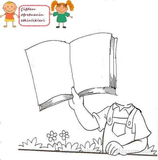 Hayalimdeki Hikaye Kitabım Okul öncesi Okul Ve Boyama Sayfaları
