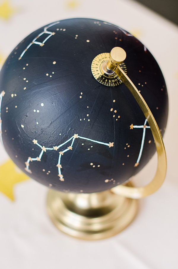 constellation inspired wedding - photo by Aneris Photography http://ruffledblog.com/dreamy-stargazing-wedding-inspiration